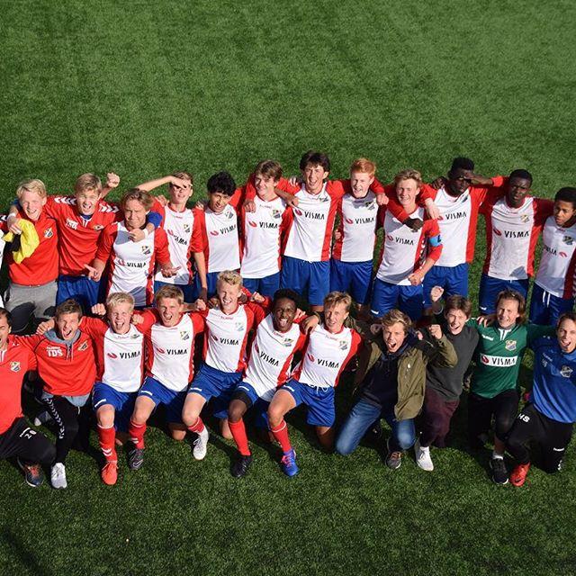 Bildet: Troppen etter NM-seieren mot Mjøndalen. Flere av disse håper vi å ha tilbake i trening snart.