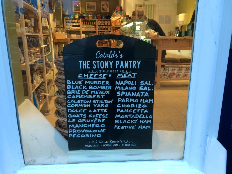 The Stony Pantry