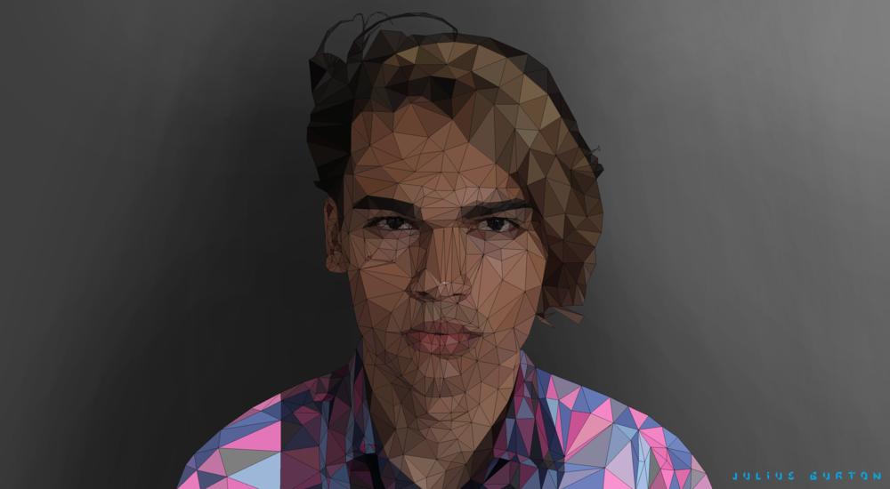 Julian Low-Polly Portrait
