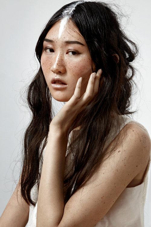 hair ESTEBAN NAULT makeup TAMSEN RAE model ANNIE LI(DULCEDO)