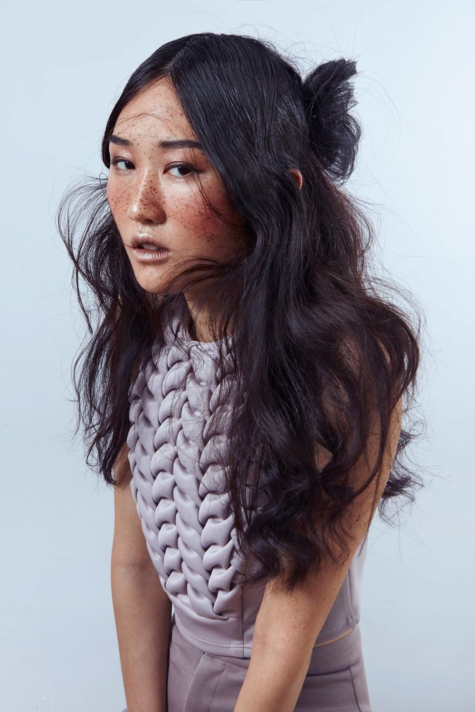 contest entry for SHU UEMURA hair ESTEBAN NAULT makeup TAMSEN RAE model ANNIE LI(DULCEDO)