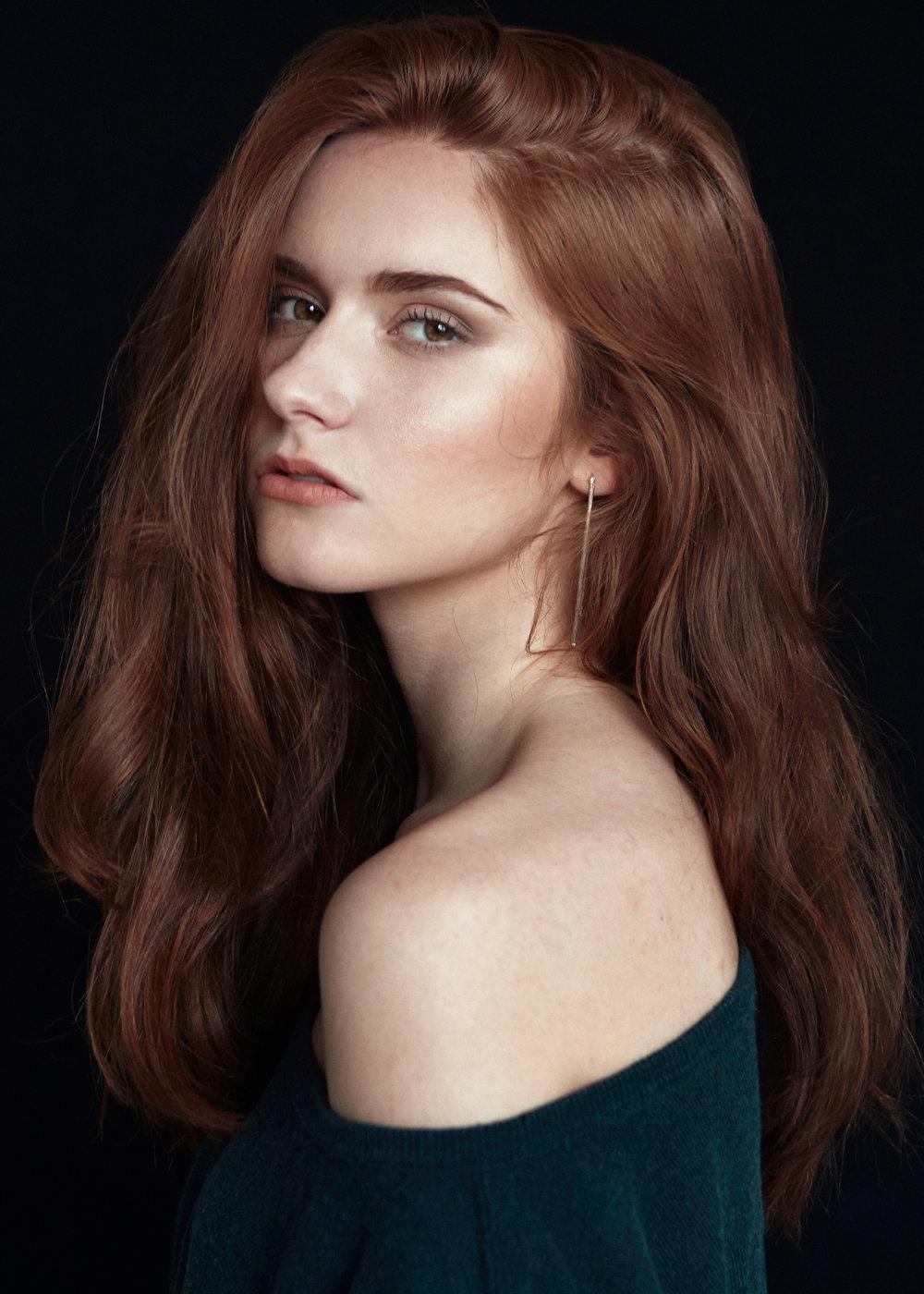 model ANNE-SOPHIE hair&makeup KIM ABECASSIS