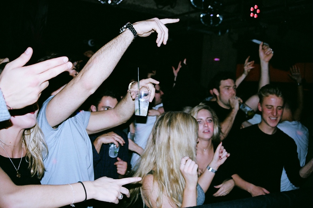 Ravers at the Queen of Hoxton, 2015
