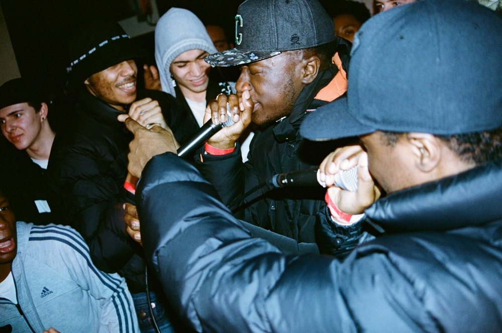 AJ Tracey, ETS and YGG at Ace Hotel, 2015