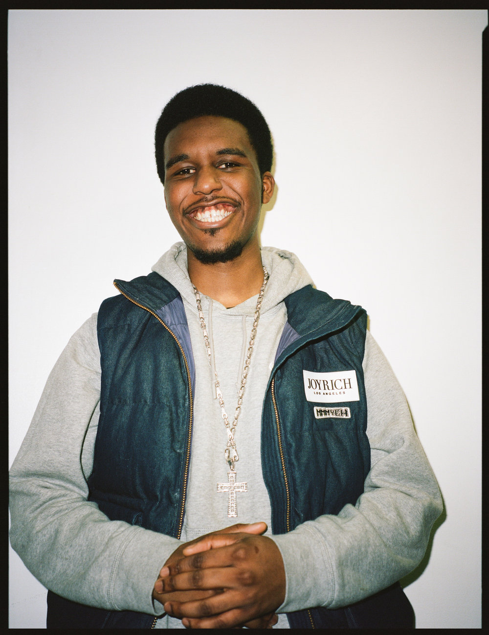 Novelist backstage at Wiley's Roundhouse show, Feb 2017