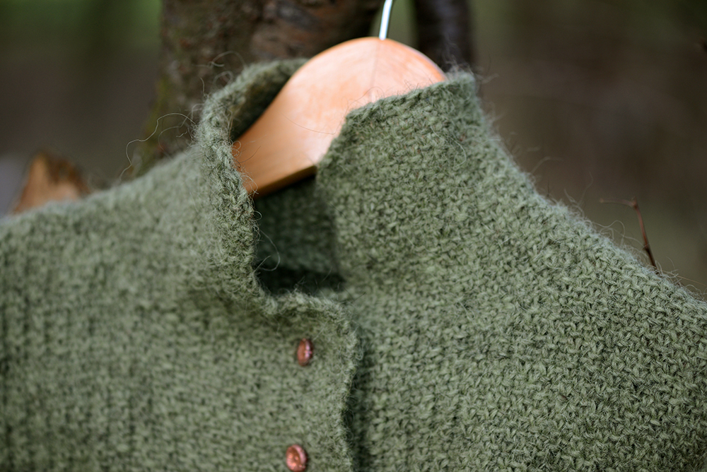 Hand Knitting Tweed With Linen Stitch Lb Handknits