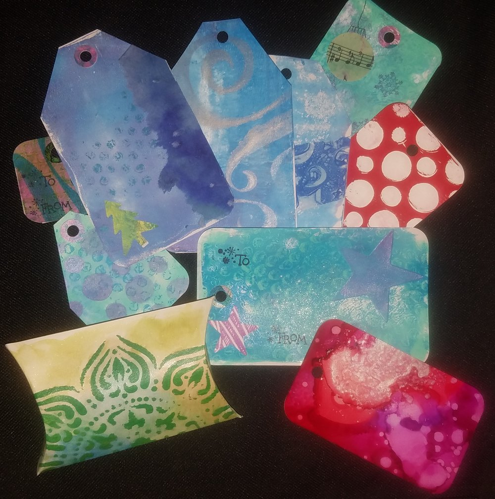 Beautiful Gift Tags and more….
