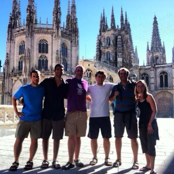 Camino Amigos - Burgos, September, 2013