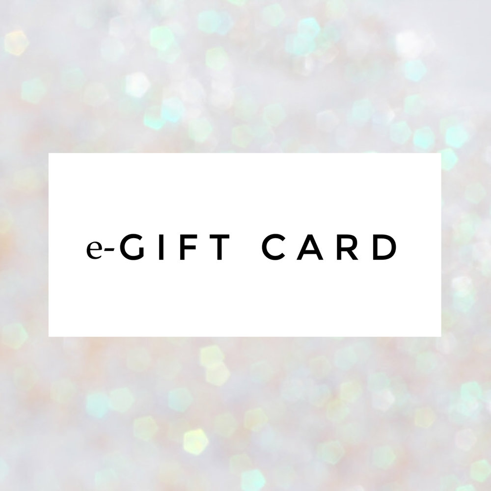 It's never too late to send one of our e-Gift cards. Perfect for last minute shopping, they can be sent at anytime of day, anywhere in the world! With our e-Gift card, you have the option of sending the voucher directly to that someone special or you can print it yourself and give it in person - done and dusted in a matter of minutes :-)