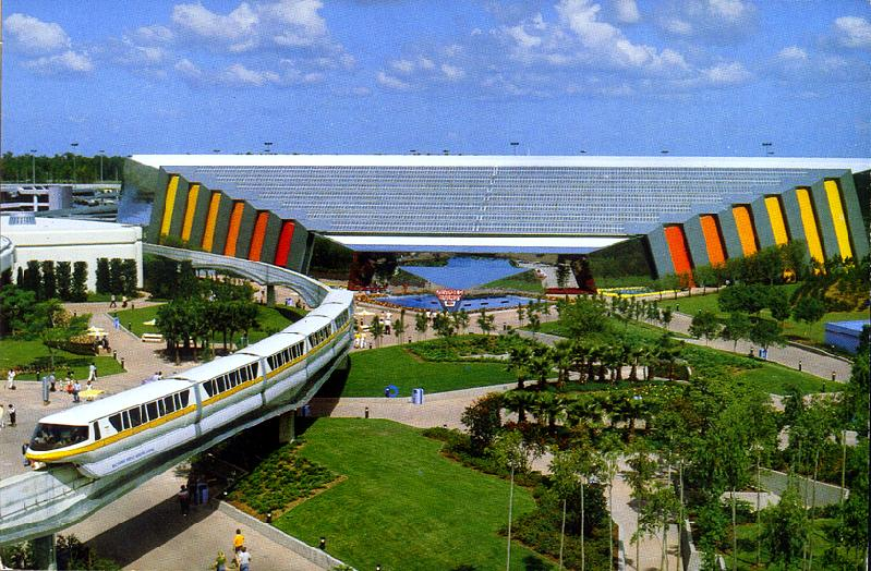 This monorail is not broken