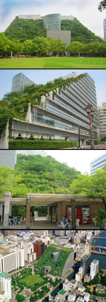 ACROS Building in Japan - via  inhabitat