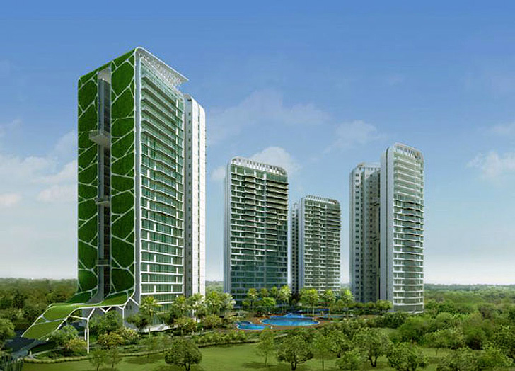 Tree House in Singapore - via  Inhabitat