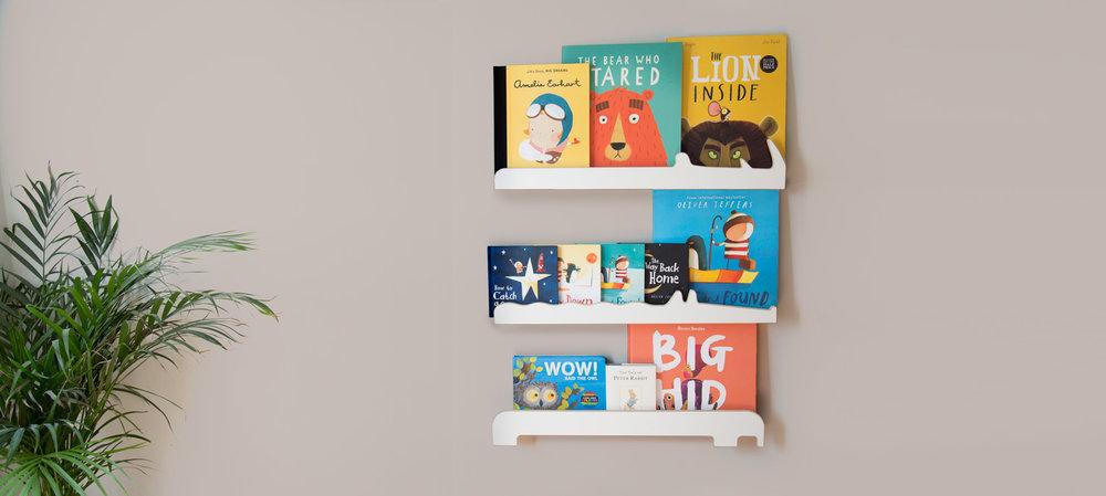 Individual bookshelves