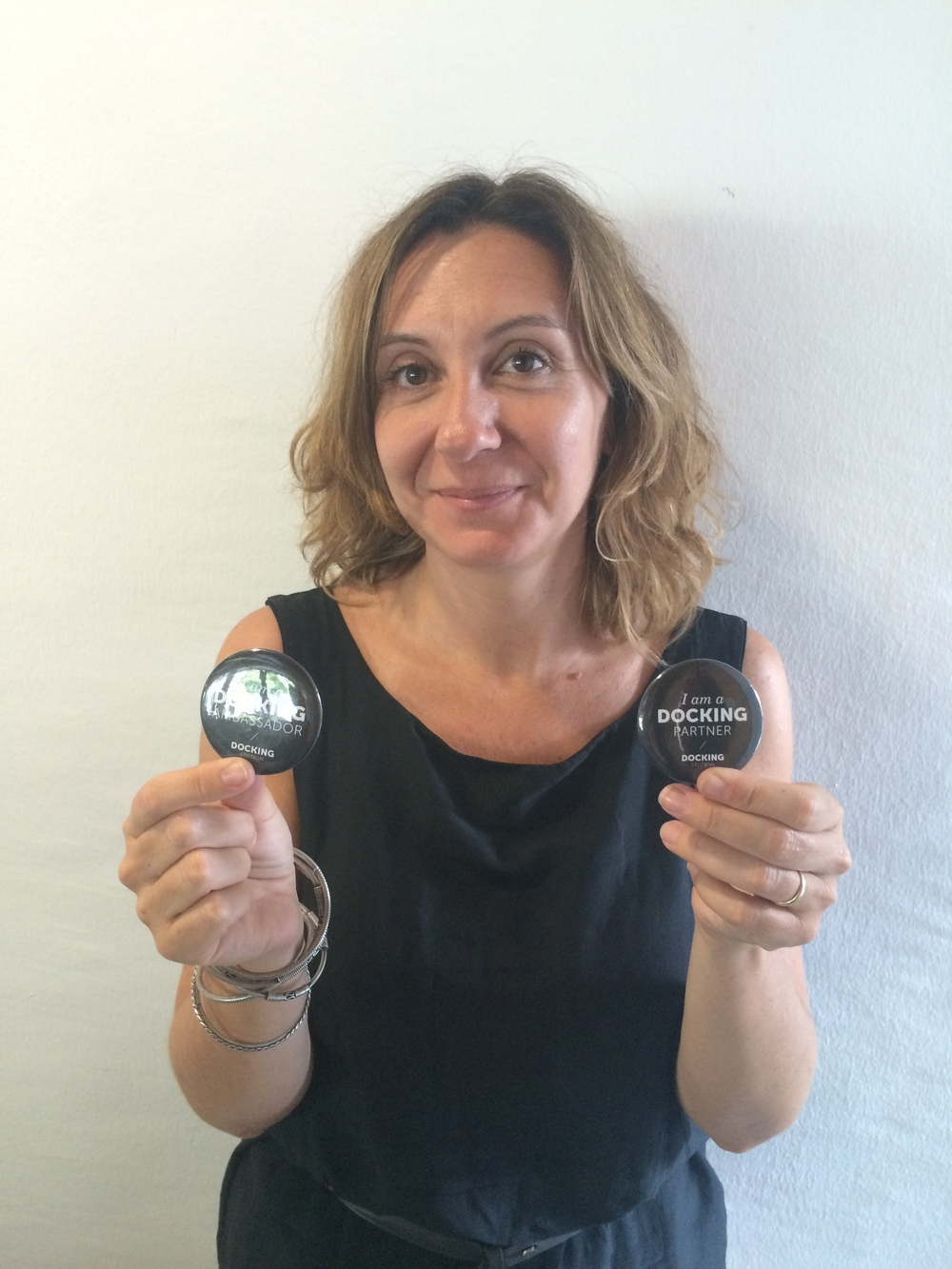 MARCELLA MANNI Gallery owner at Metronom, Modena, Italy