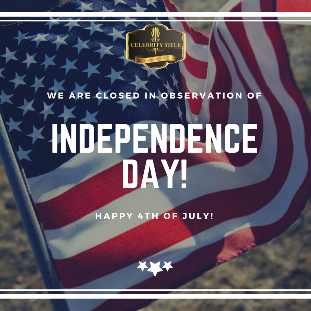 We will resume regular business ours at 8:00a on Thursday, July 5th.