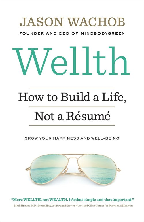 wellth how i learned to build a life not a resume by jason wachob - How To Build A Resume