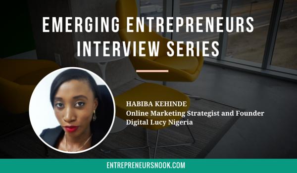 Emerging Entrepreneurs Interview with Habiba Kenhinde - The Entrepreneurs Nook