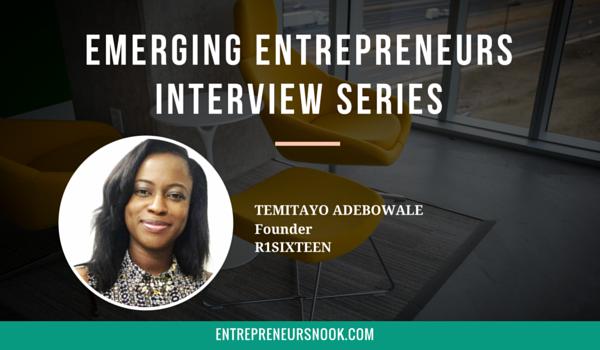Emerging Entrepreneurs Interview with Temitayo Adebowale - TEN