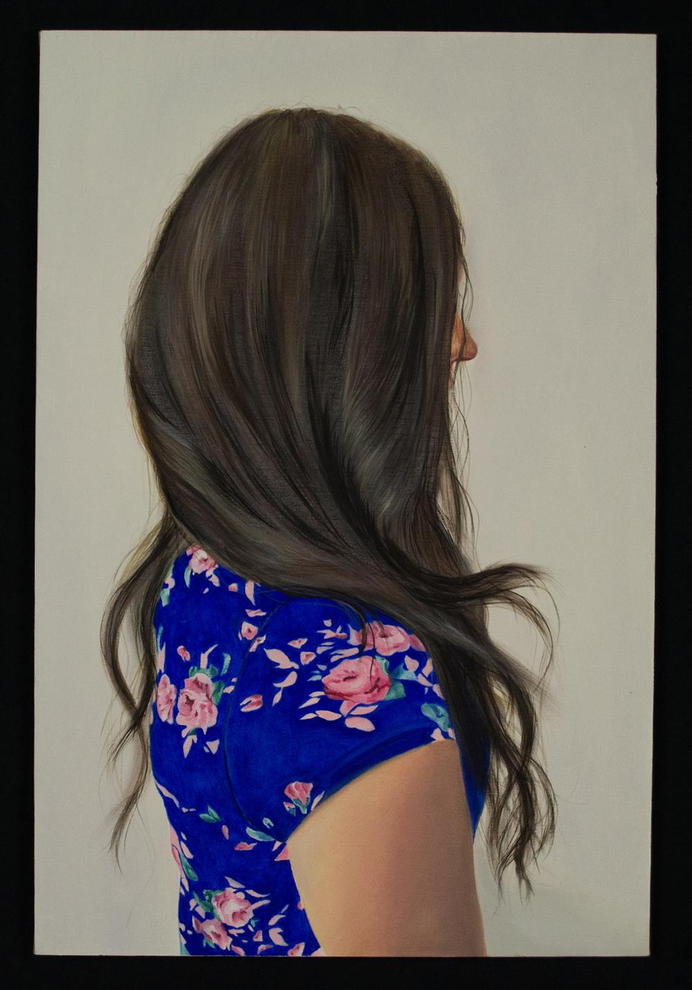 Cortland Kerwin (BFA 2015), Lauren,painting
