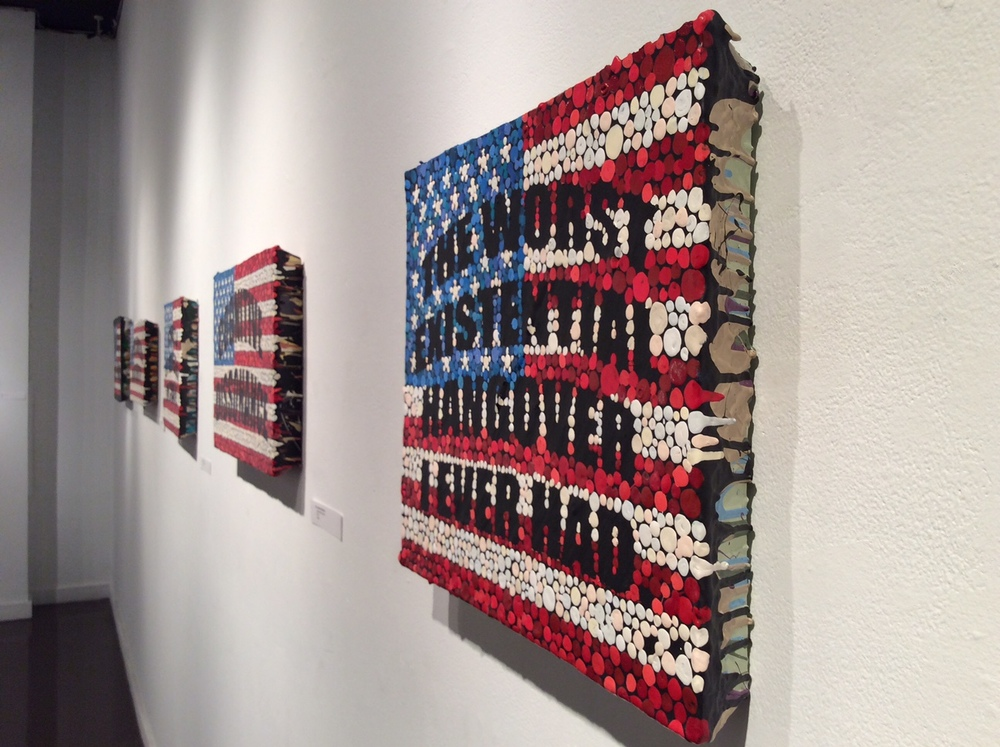 Installation view of  A Year of Lies and Other Stories...