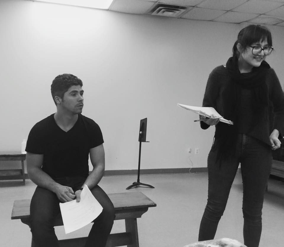 """Lilia"" rehearsal with Fillipe Valle Costa"