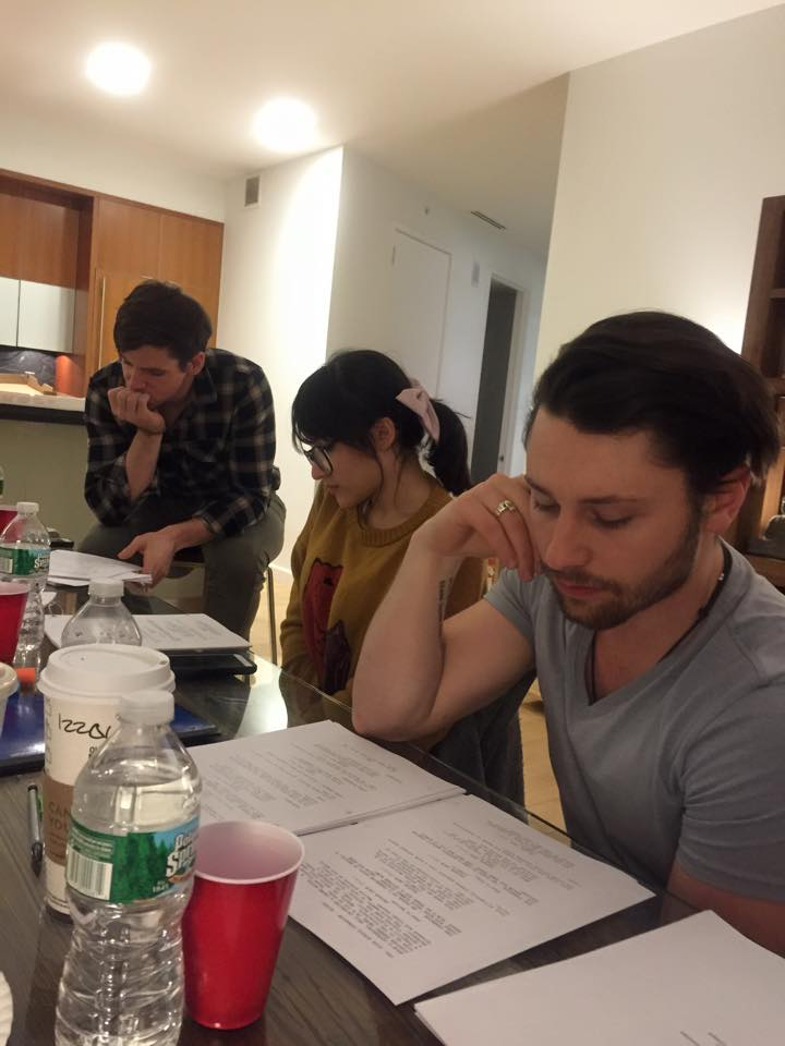 """First table read """"Kingsland Chronicles"""""""