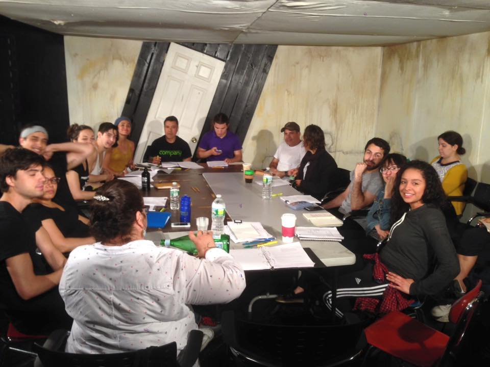 Cast of Satyricono - First table read