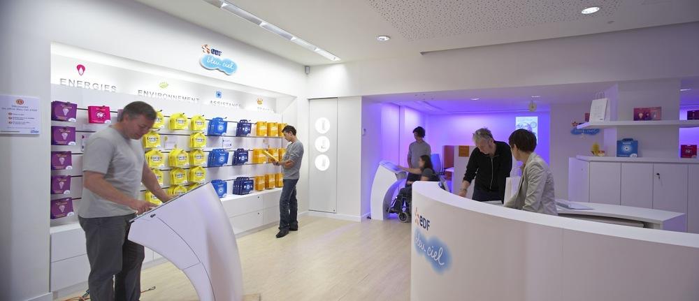 EDF concept Bleu Ciel