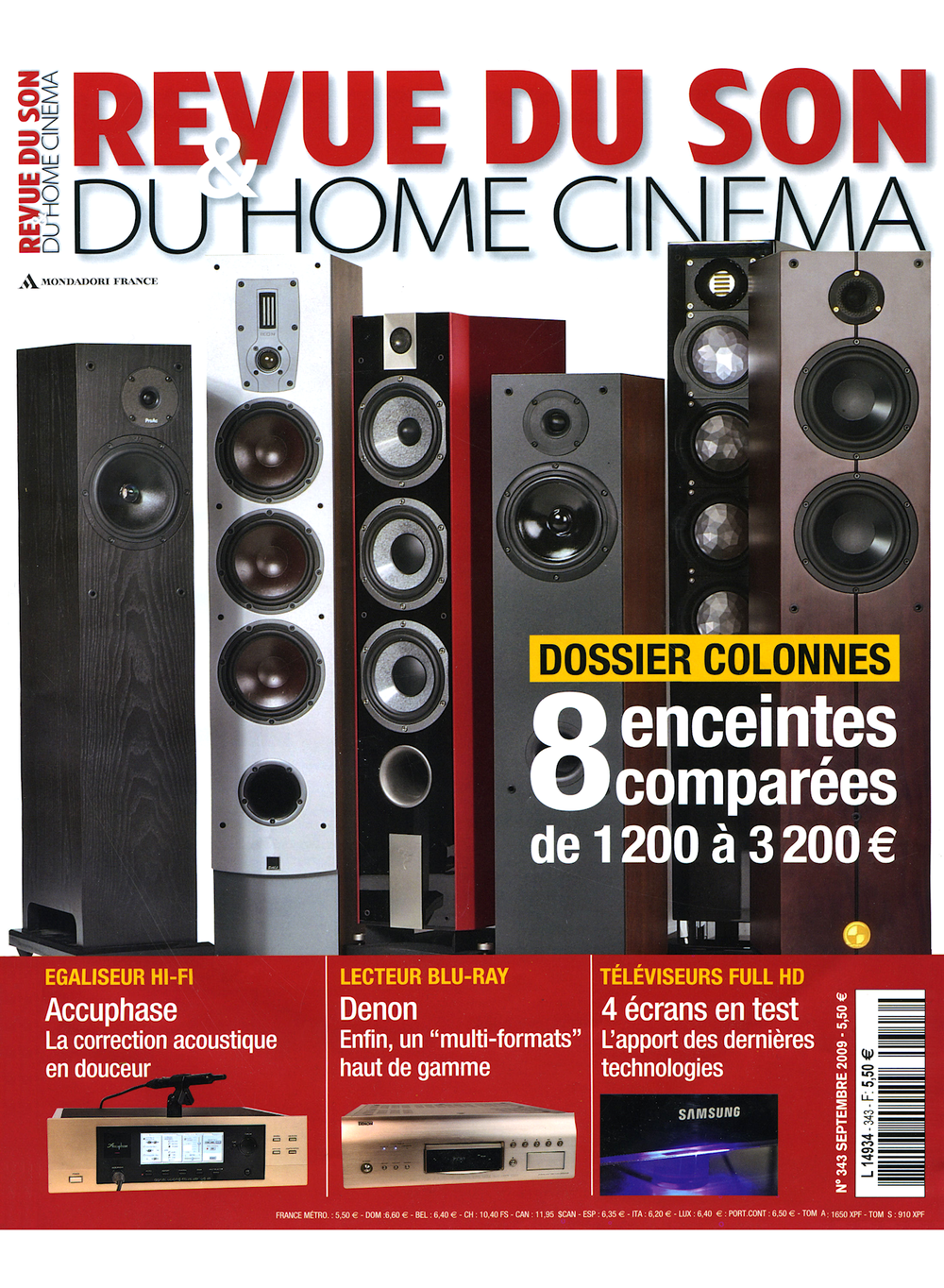 REVUE DU SON & DU HOME CINEMA