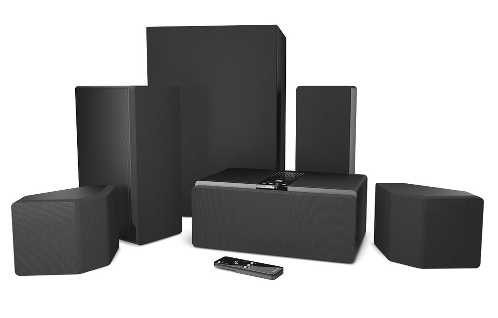 Enclave Audio CineHome Series HD Wireless Audio Home Theater System - photograph courtesy of enclave audio