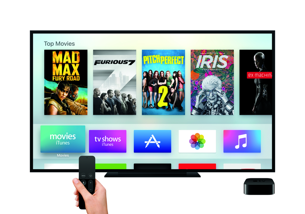 Apple TV new tvOS - Photograph courtesy of Apple