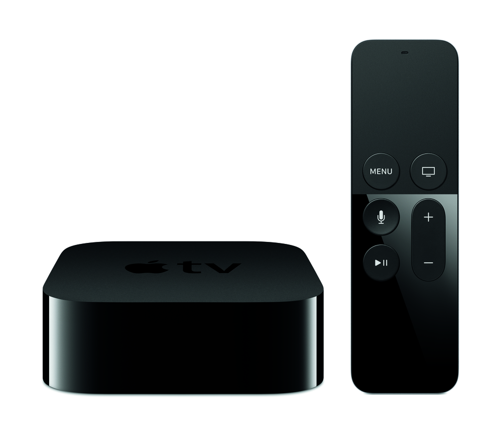 New Apple TV hardware - Photograph courtesy of Apple