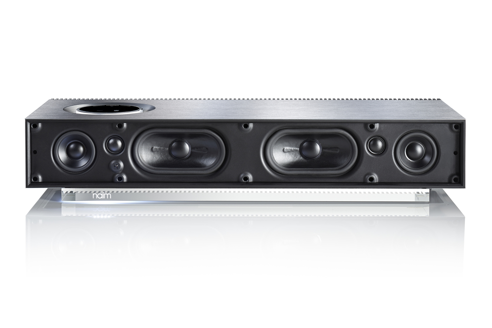 Naim Mu-so with grill off