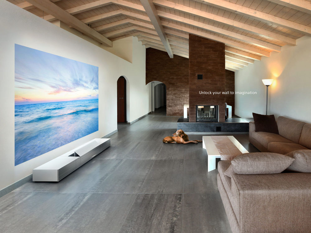 Sony Ultra Short Throw 4K projector - Photograph courtesy of Sony Corporation