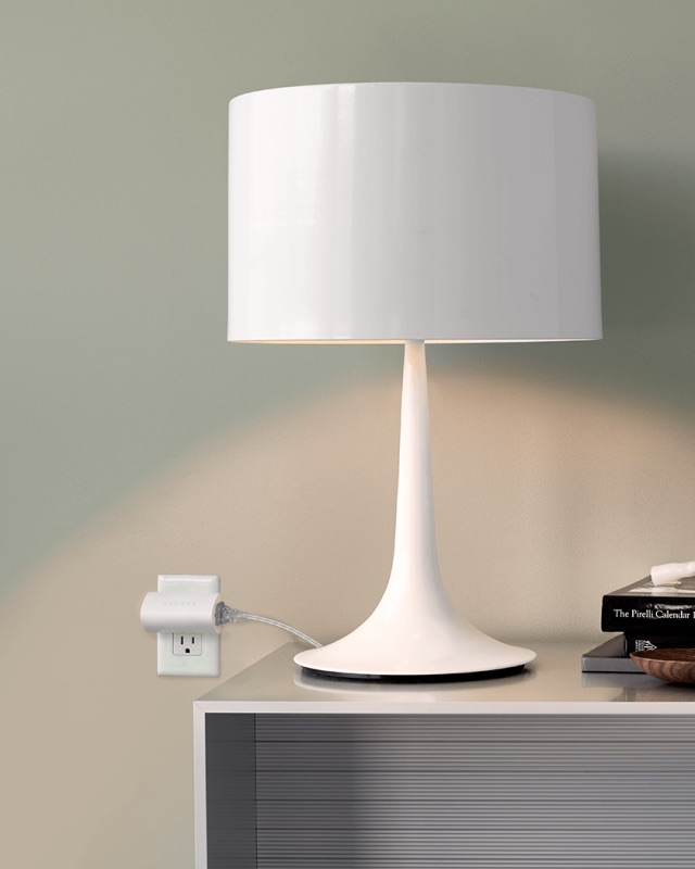 Savant Lamp Control - Photograph courtesy of Savant