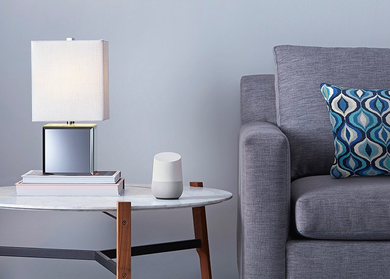 Google Home - Photograph Courtesy of Google