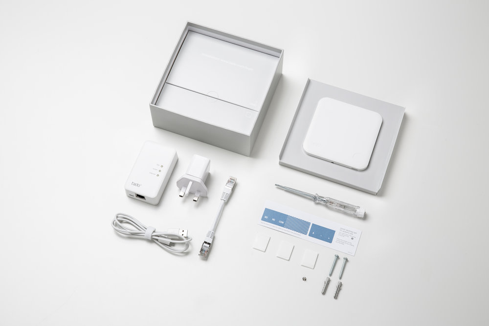 Tado Smart Thermostat package - Photograph courtesy of Tado