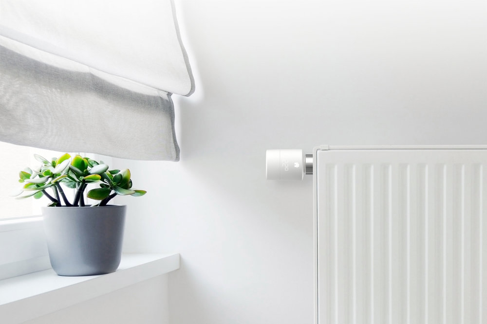 Tado new Smart Radiator Thermostat - Photograph courtesy of Tado