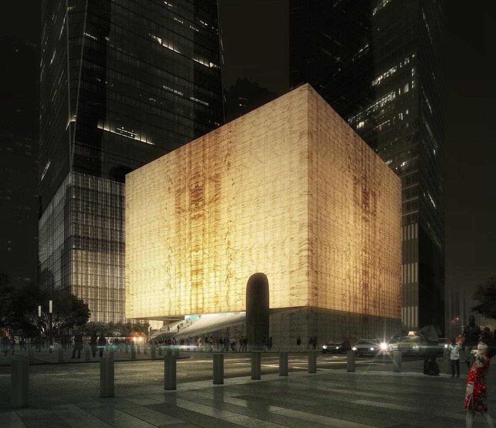 Perelman Center @ WTC, REX