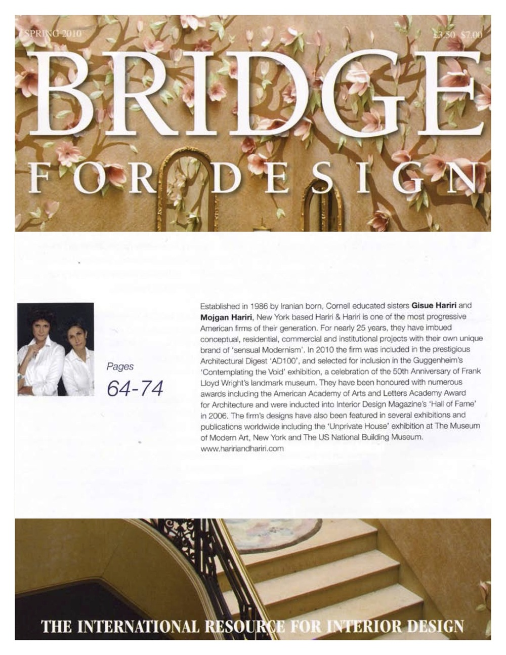 04.10 BRIDGE FOR DESIGN (PROFILE OF H&H)