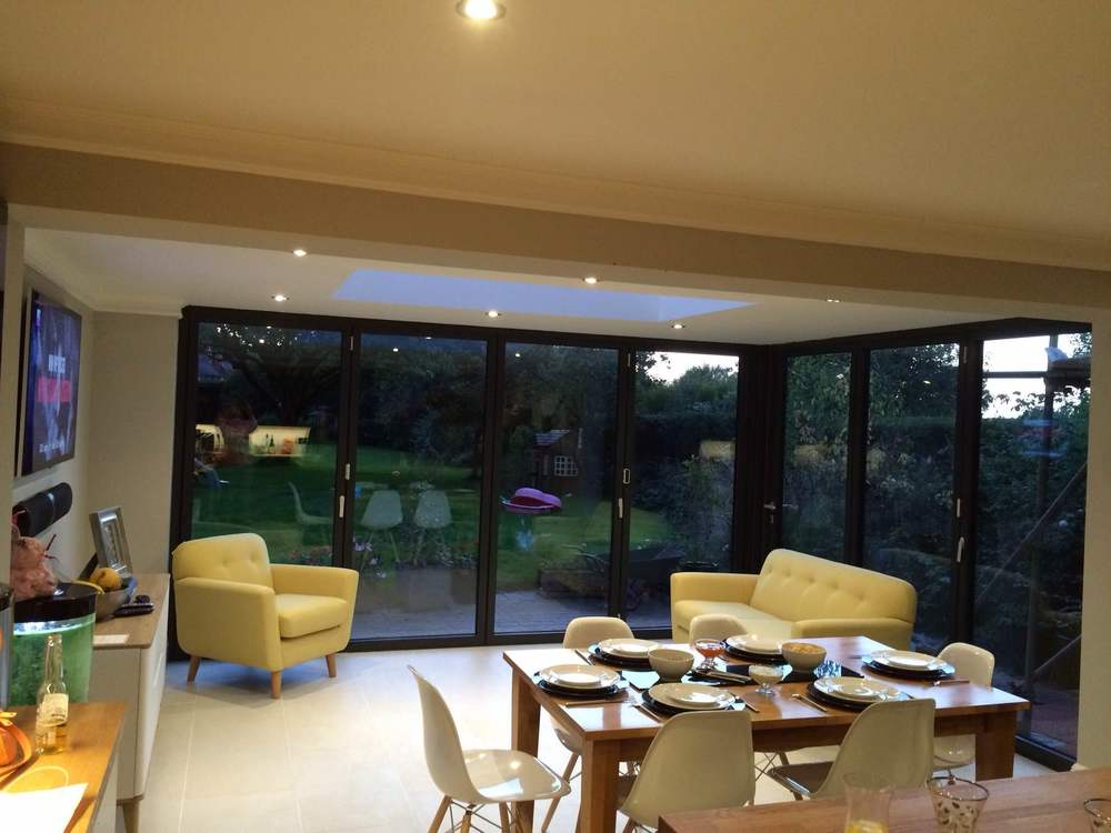 Bi Fold Doors on kitchen extension