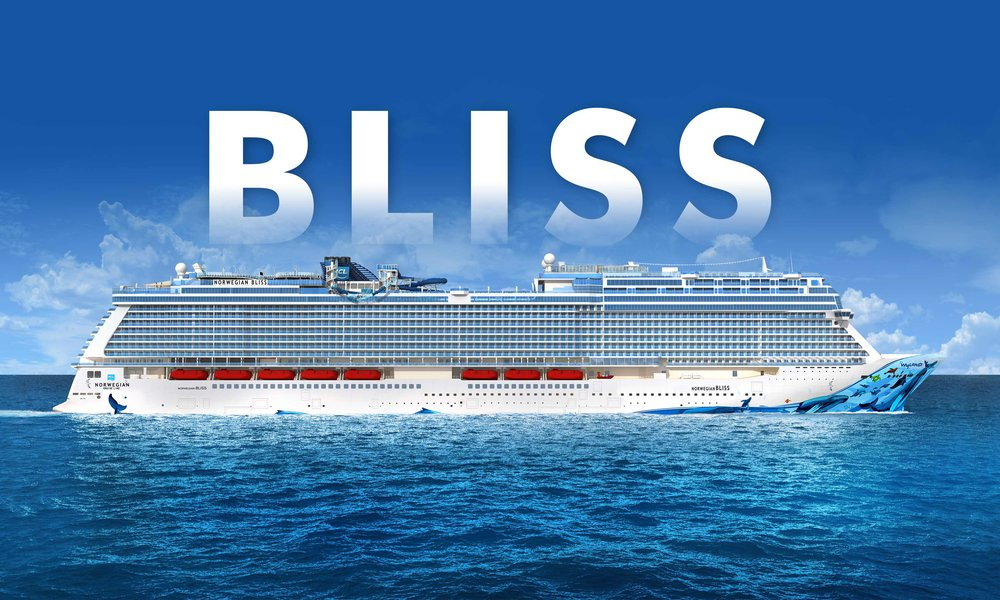 INAUGURAL - Largest cruise ship in Alaska, Norwegian Bliss (Coming in 2018)