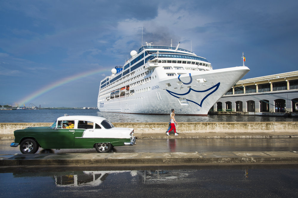INAUGURAL - (3rd) Sailing to Cuba in 50 years, Fathom Cruises