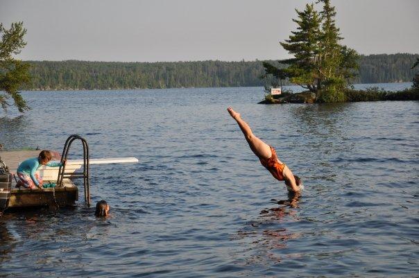 A Beautiful Dive