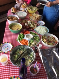 ...and there was GOOD food and lots of it....