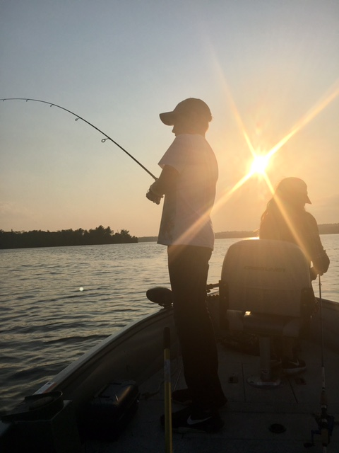 Grandkids love to fish....