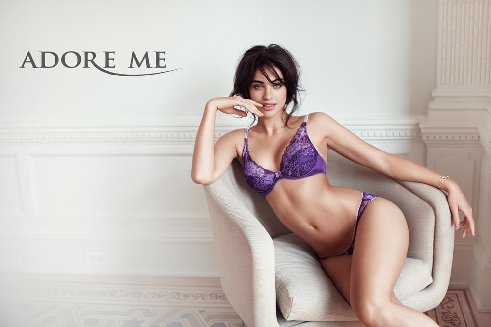 AdoreMe lingerie campaign