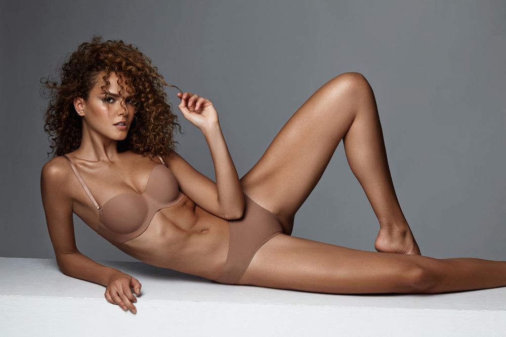 BROWN BOTTIMS LINGERIE CAMPAIGN