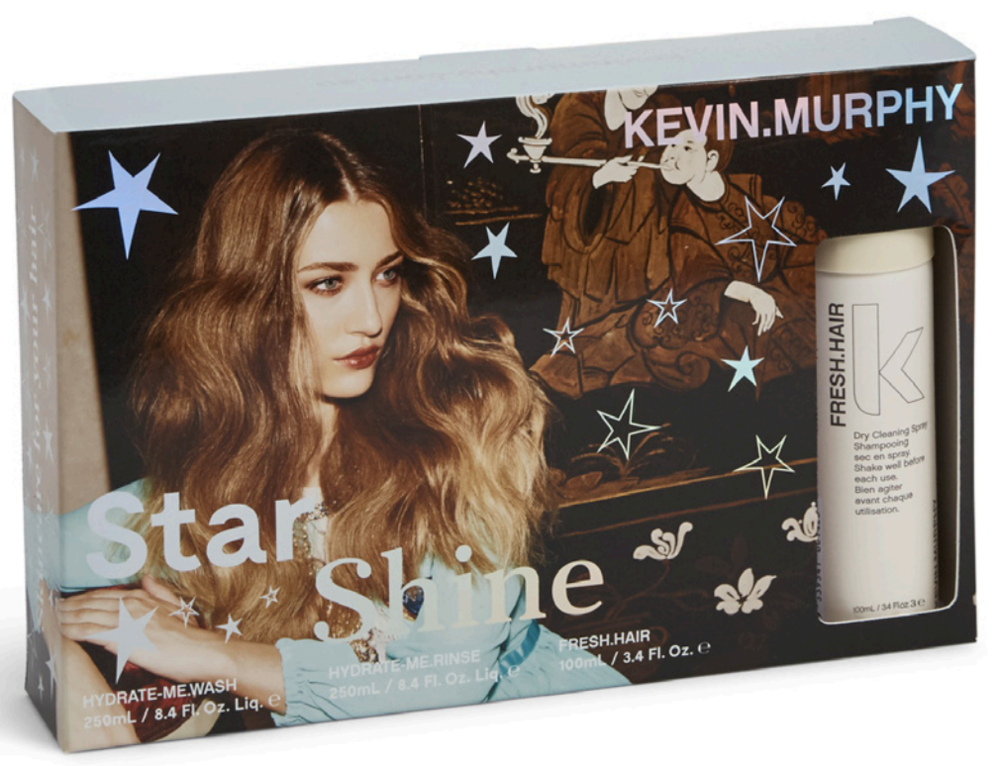 Star Shine - $60 - Let your hair shine like never before with Kakadu Plum infused HYDRATE.ME.WASH & RINSE and a limited edition size of FRESH.HAIR to keep your locks fresh and bouncy. Perfect choice for : All hair types