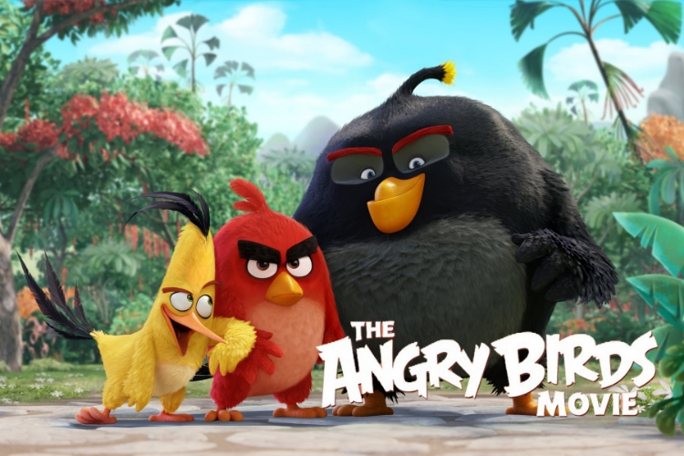 The Angry Birds Movie toppled its way to #1 with an estimated $38.15 million.